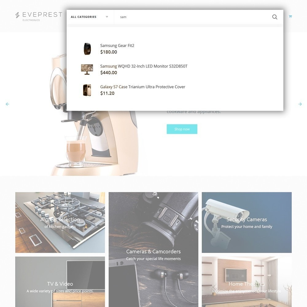 theme - Elektronik & High Tech - Eveprest - Electronics PrestaShop Theme - 5