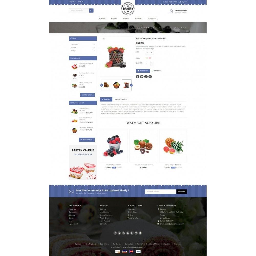 theme - Продовольствие и рестораны - Online Bakery Store - 5