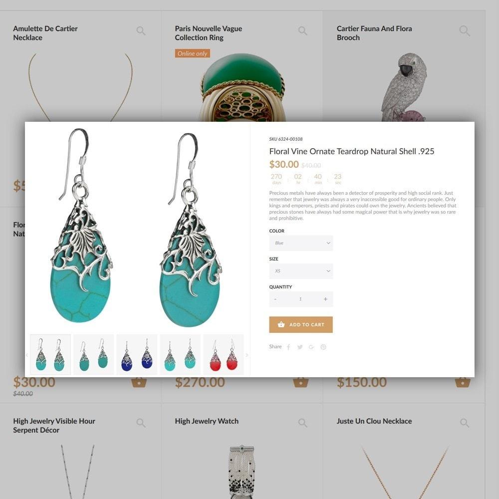theme - Mode & Chaussures - Jewelrix - Bijoux et articles de beauté thème - 6