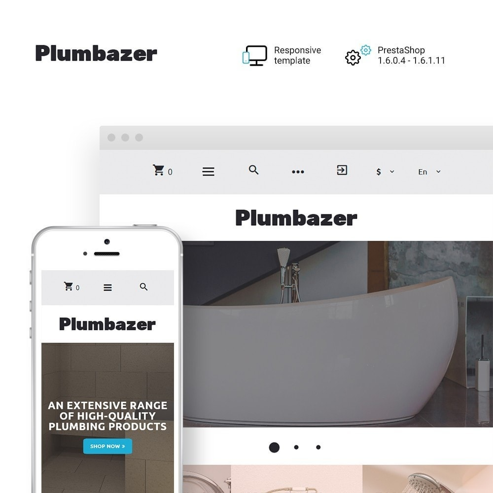 theme - Home & Garden - Plumbazer - Plumbing Responsive - 1