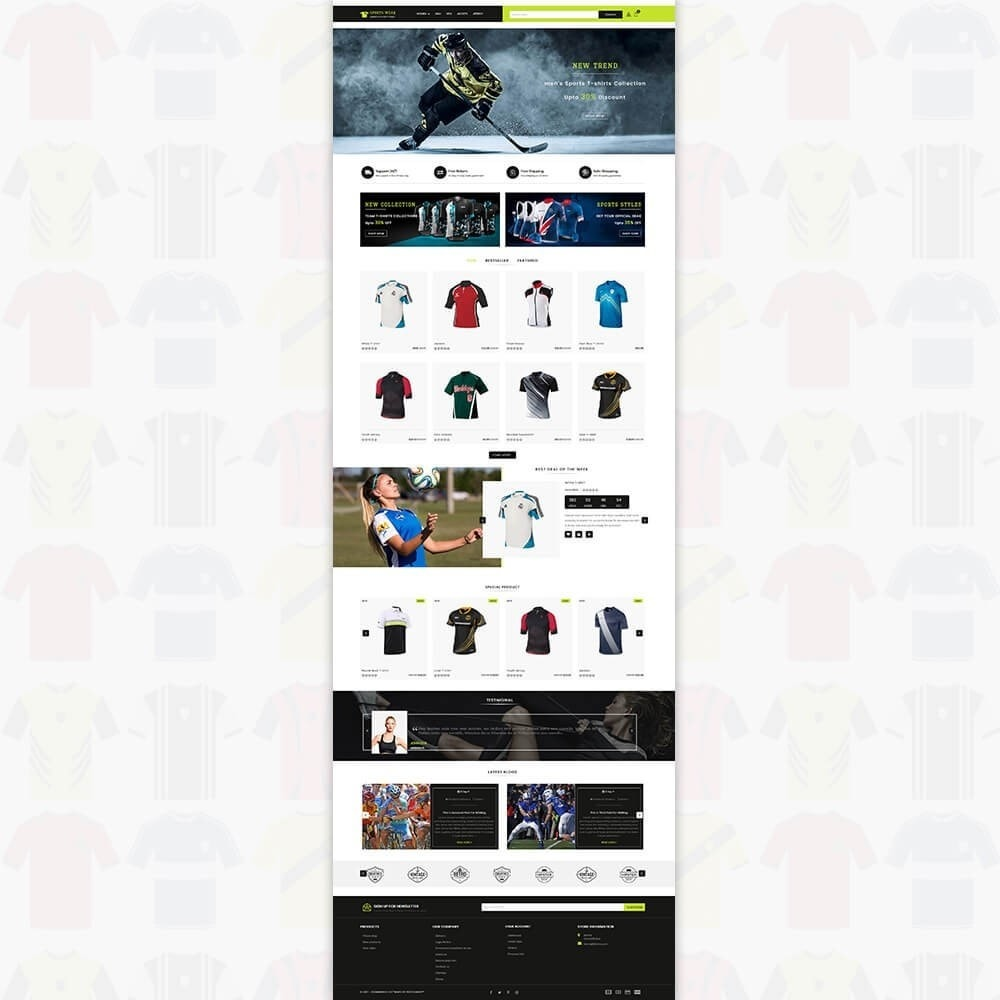 theme - Спорт и Путешествия - Sports Wear - The Sports T-shirt store - 2