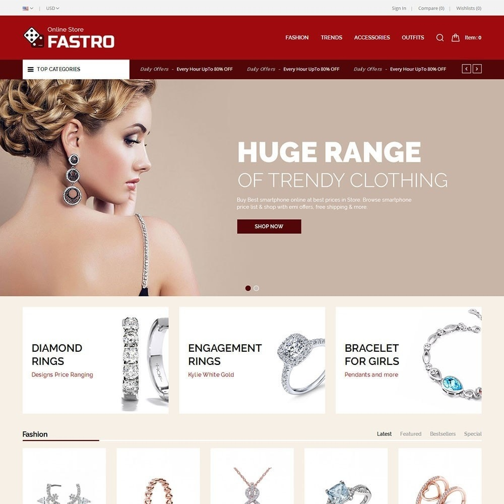 theme - Schmuck & Accesoires - Fastro Jewellery Store - 2
