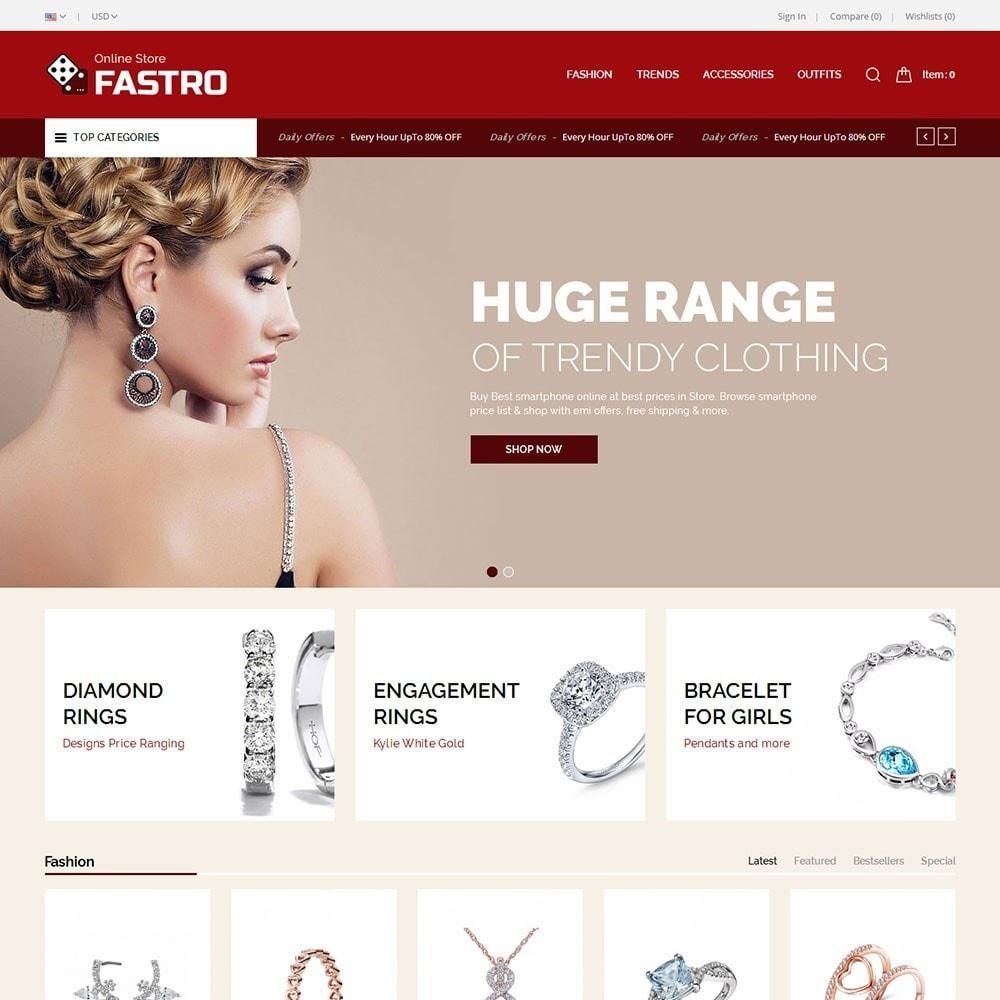 theme - Jewelry & Accessories - Fastro Jewellery Store - 2