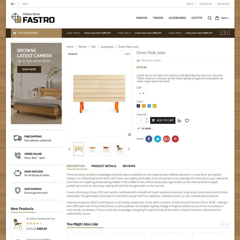 theme - Home & Garden - Fastro Furniture Shop - 5