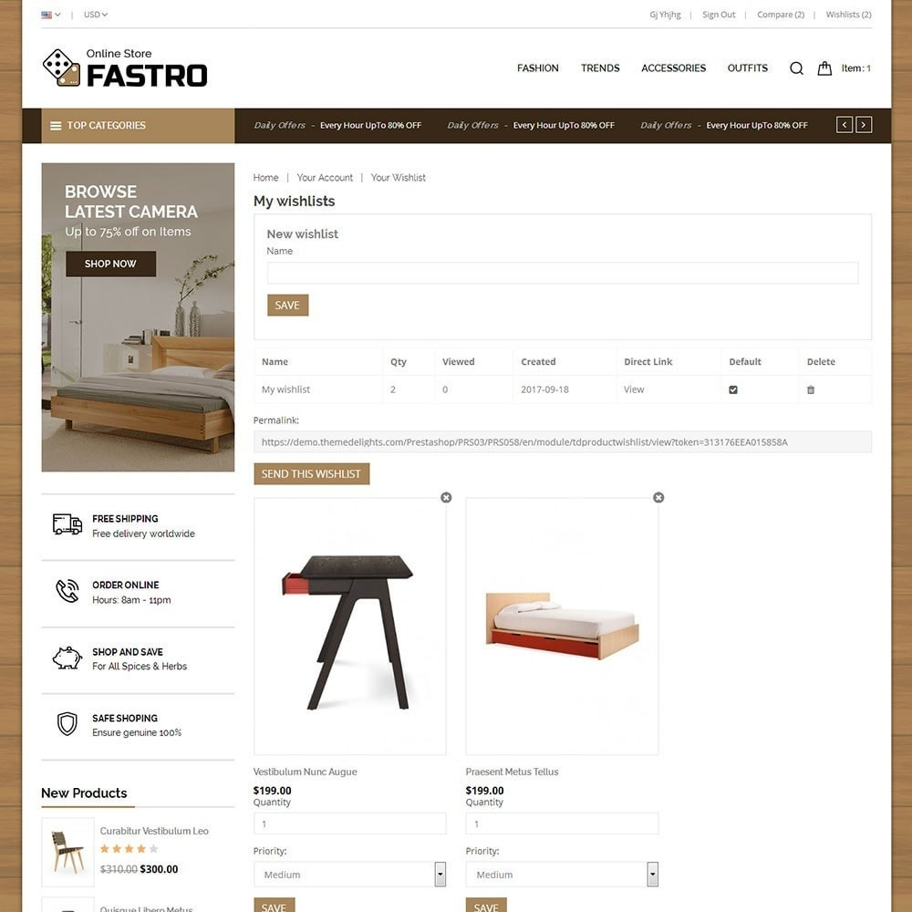 theme - Home & Garden - Fastro Furniture Shop - 8