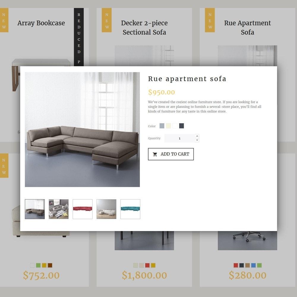 theme - Искусство и Культура - Decorma -  шаблон по продаже мебели - 3