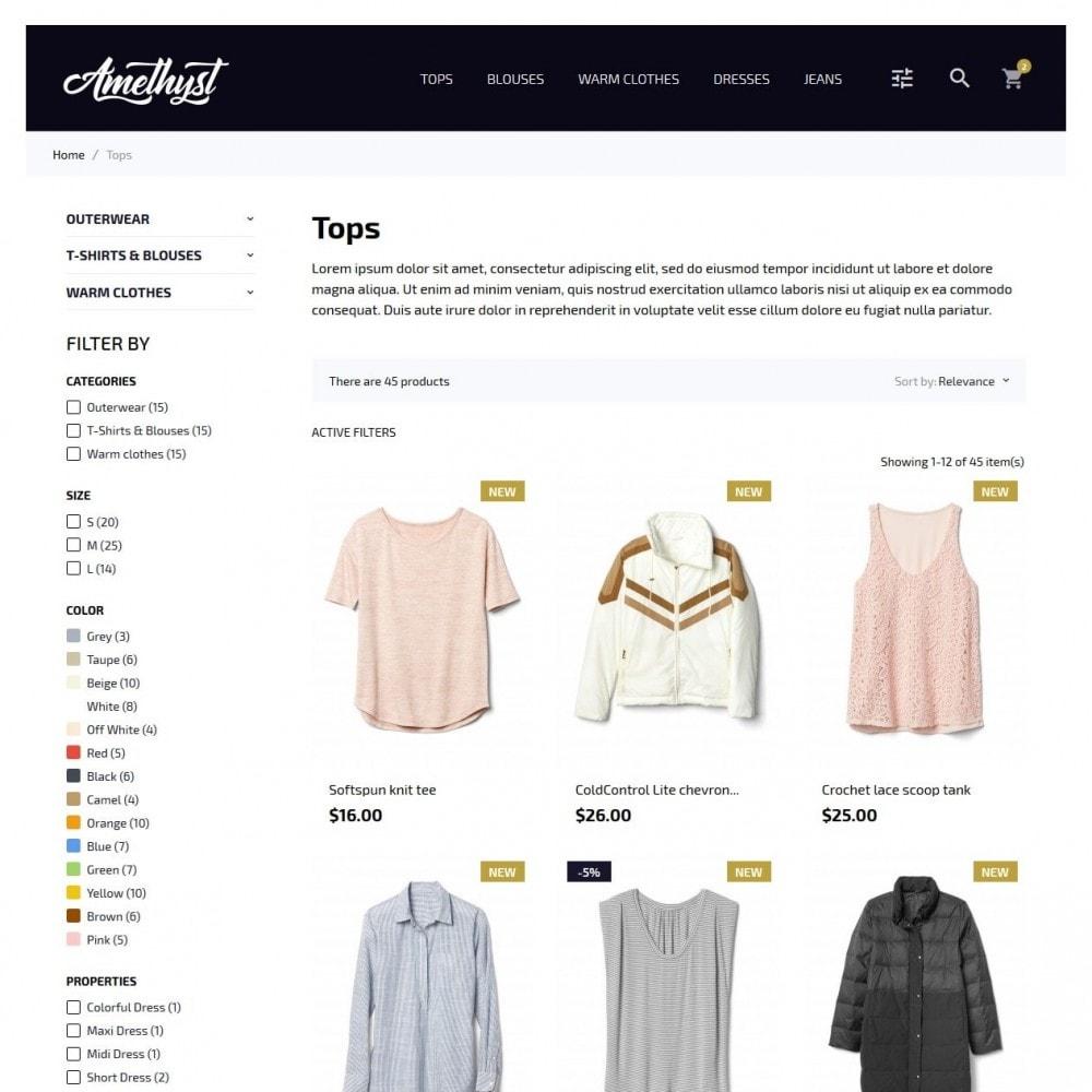 theme - Moda y Calzado - Amethyst Fashion Store - 5