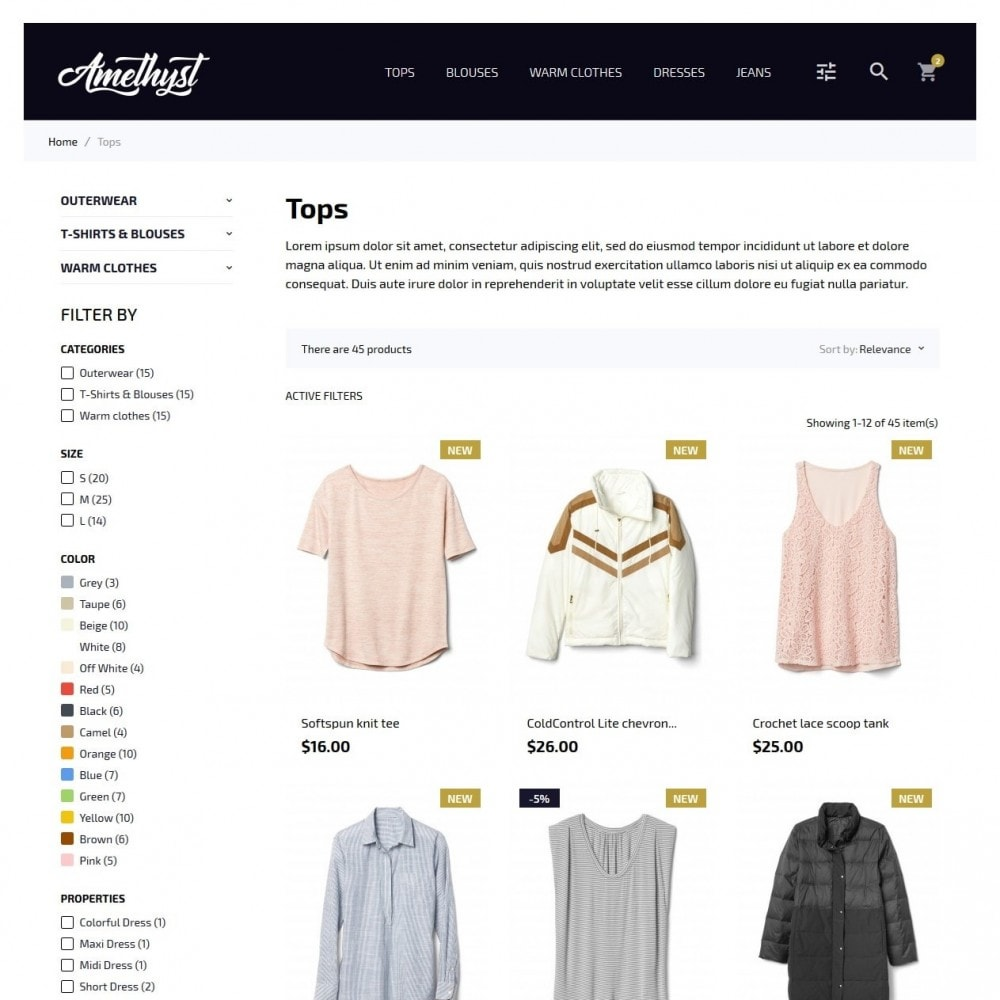 theme - Mode & Schoenen - Amethyst Fashion Store - 5