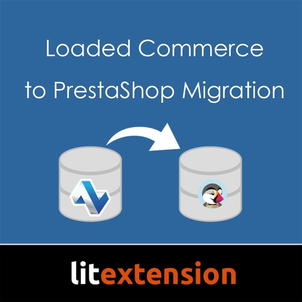 module - Datenmigration & Backup - LitExtension: Loaded Commerce to Prestashop Migration - 1