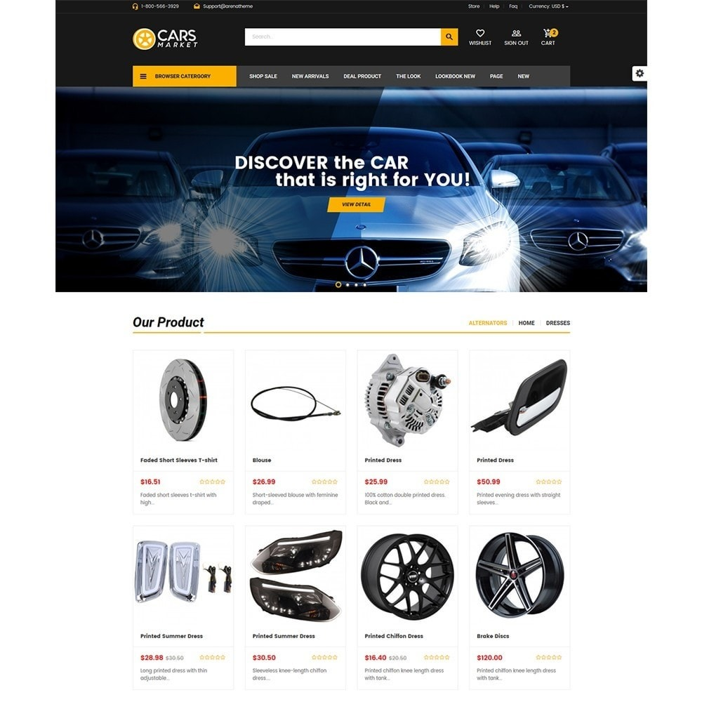 theme - Auto & Moto - Carpart Automobile Store - 2