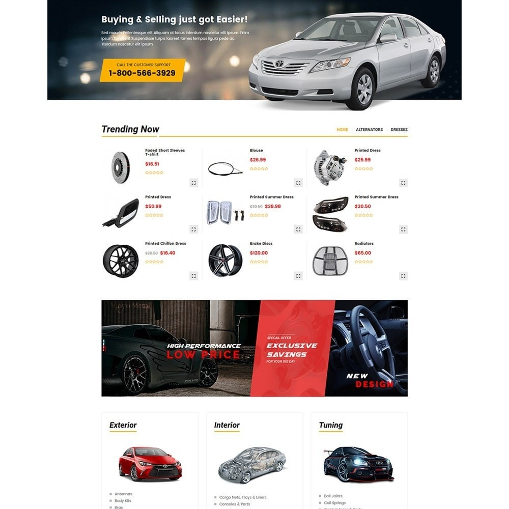theme - Auto & Moto - Carpart Automobile Store - 3