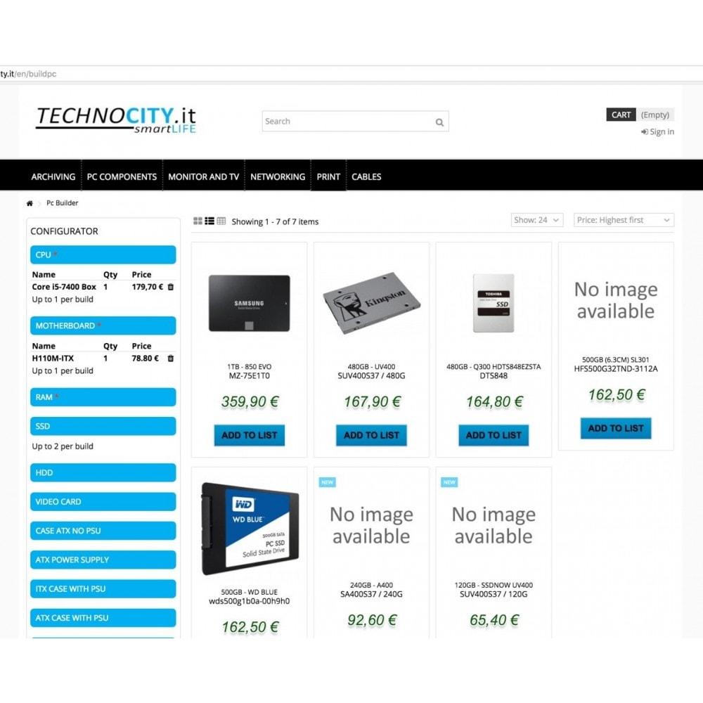module - Deklinacje & Personalizacja produktów - PC Builder | PC Configurator - 7