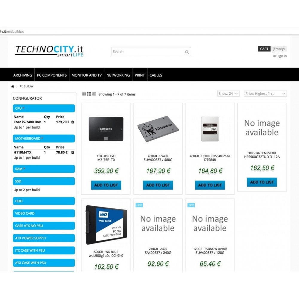 module - Bundels & Personalisierung - PC Builder | PC Configurator - 7