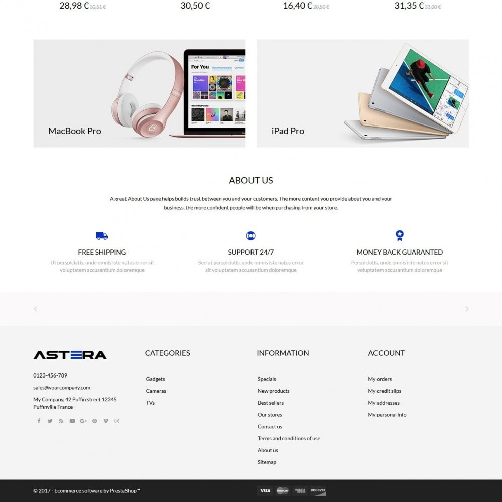 theme - Elettronica & High Tech - Astera - High-tech Shop - 4