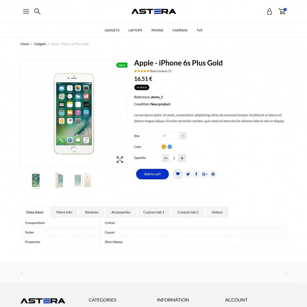 theme - Электроника и компьютеры - Astera - High-tech Shop - 6