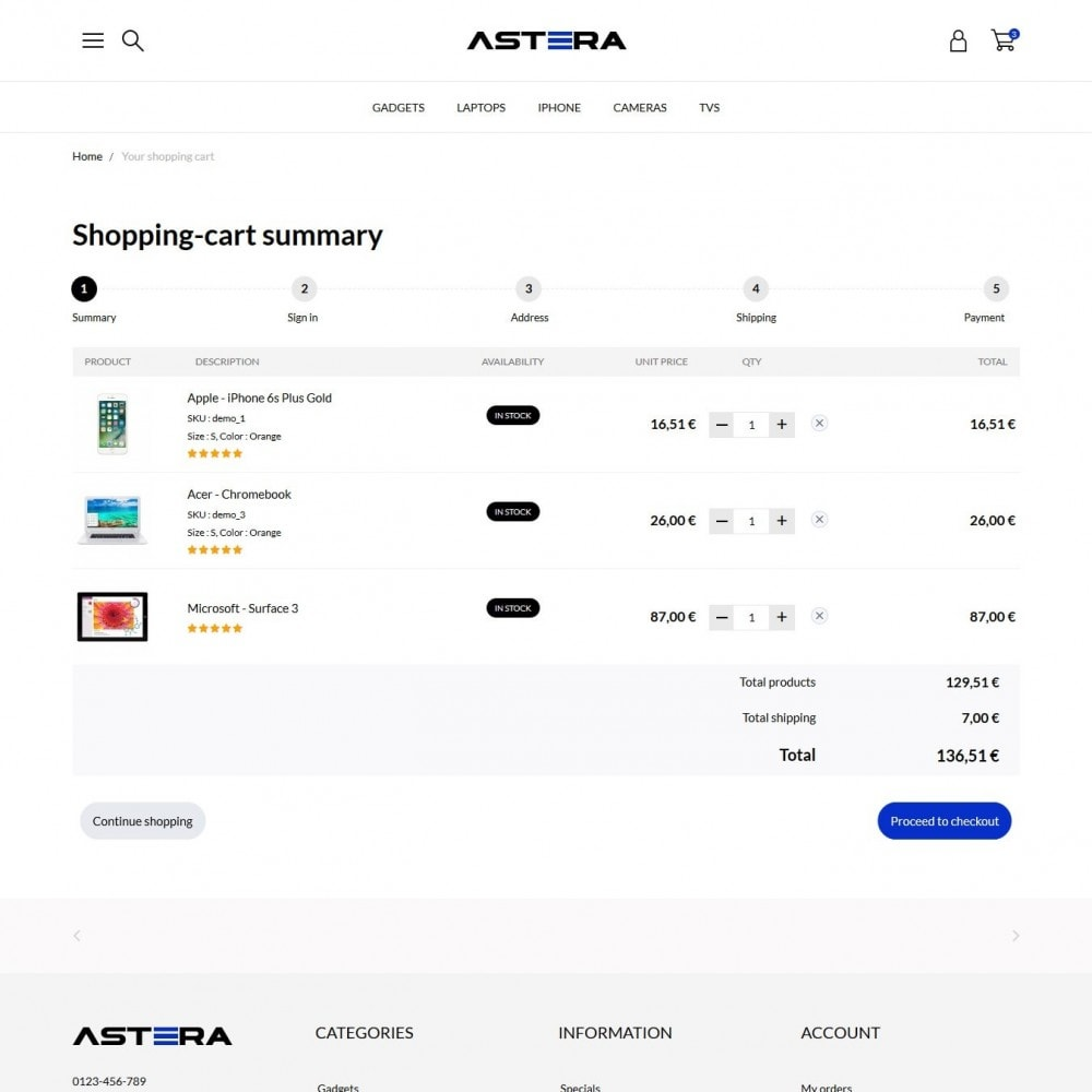 theme - Elektronika & High Tech - Astera - High-tech Shop - 9