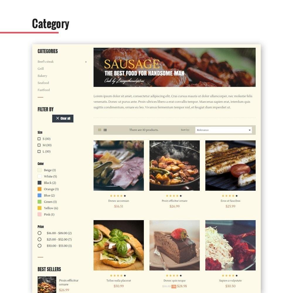 theme - Żywność & Restauracje - Leo Bon Appetit - 5