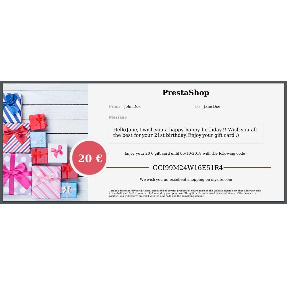 module - Wunschzettel & Geschenkkarte - Premium-Geschenkkarte 1.7 - 3