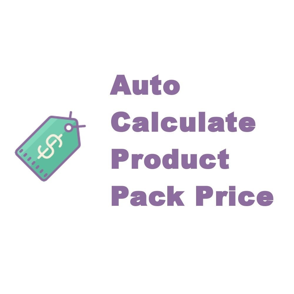 module - Ventes croisées & Packs de produits - Auto Calculate Product Pack Price - 1