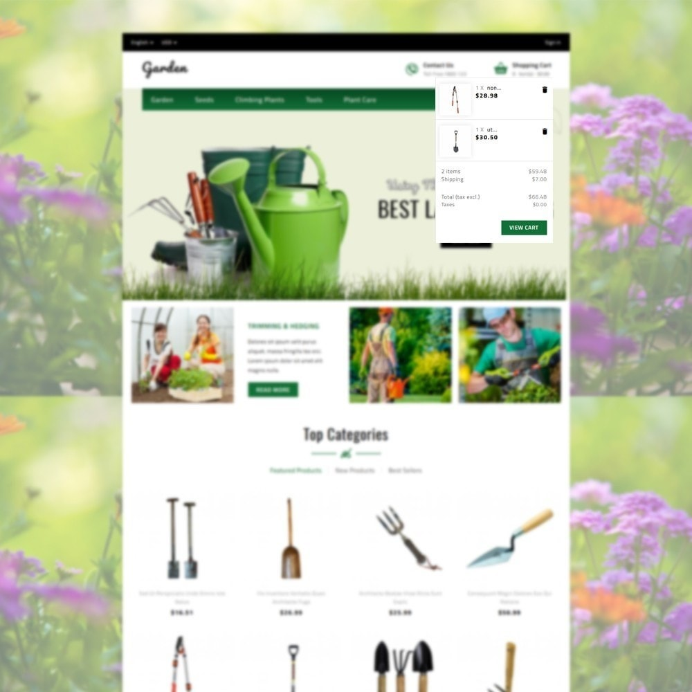 theme - Hogar y Jardín - Garden Store - 6