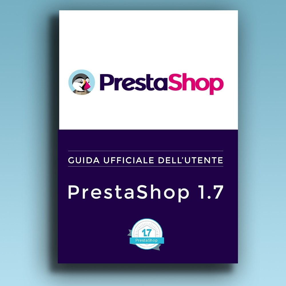 other - Gebruiksaanwijzing - PrestaShop 1.7 User Guide (Italian version) - 1