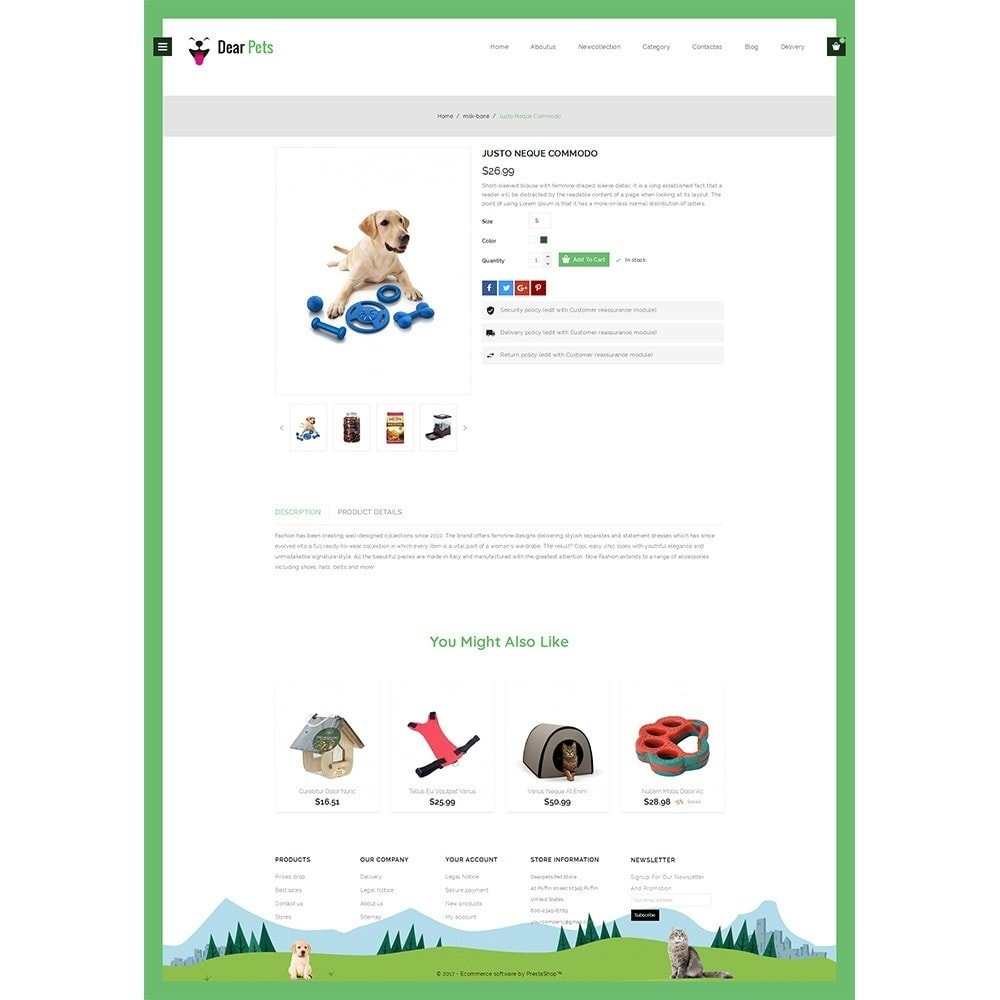 theme - Animals & Pets - Dearpets Pet Store - 4