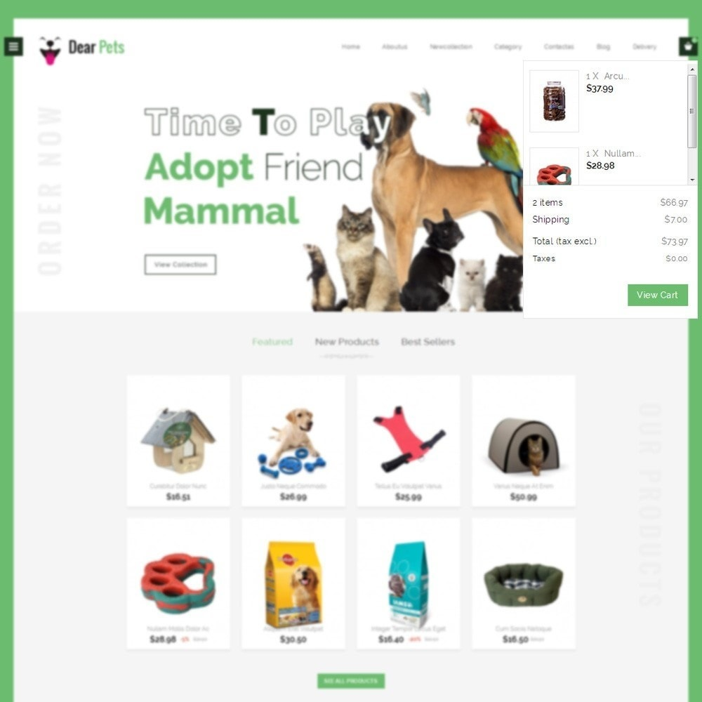 theme - Animais - Dearpets Pet Store - 6