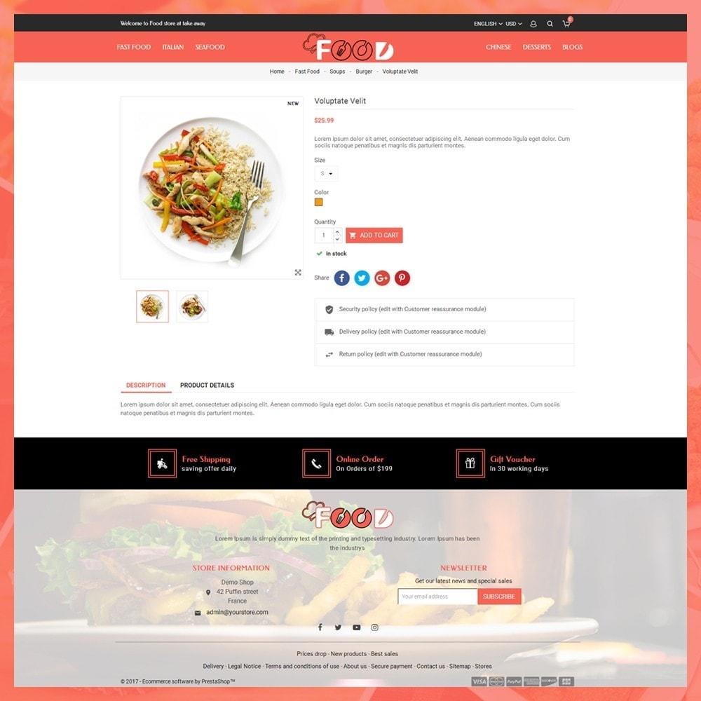 theme - Lebensmittel & Restaurants - Food Restro - 6