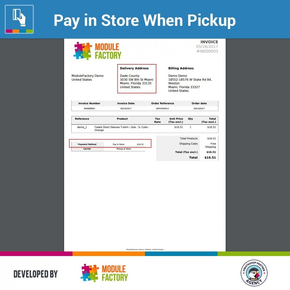 module - Betaling in de Winkel - Pay in Store When Pickup - 5
