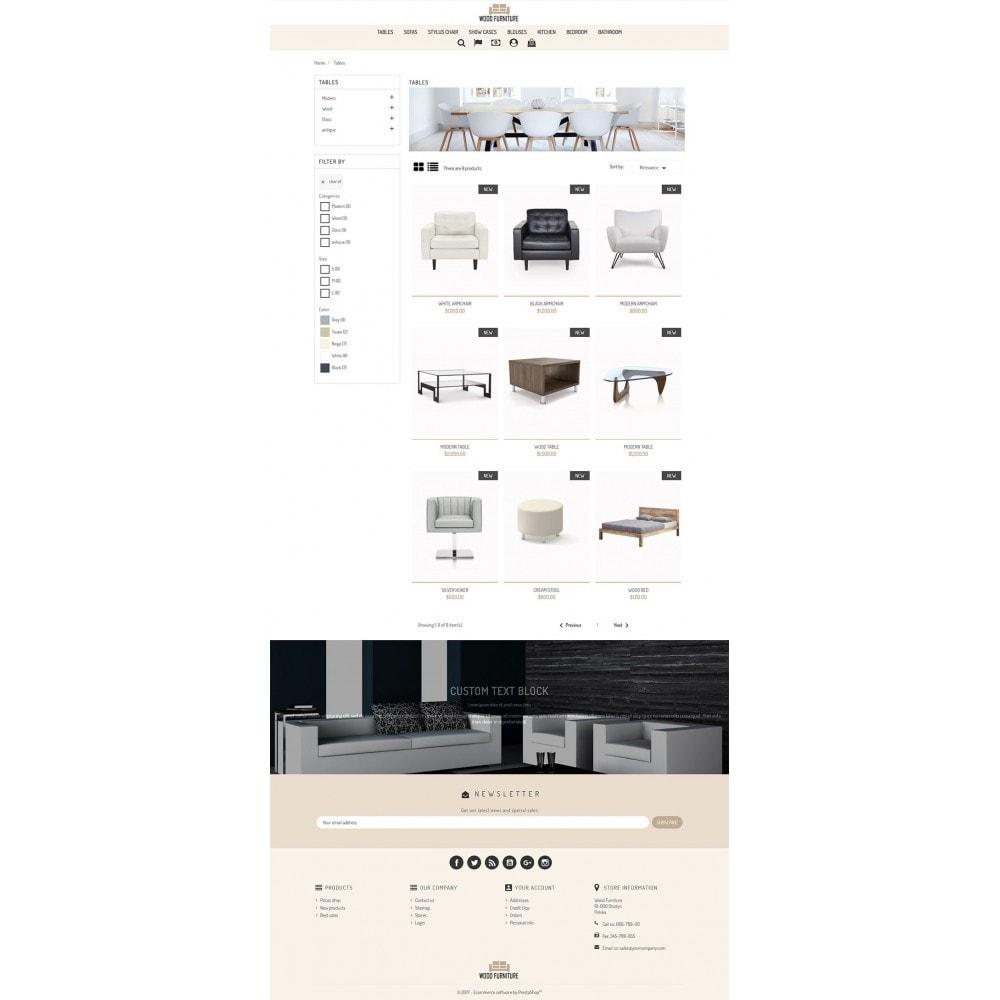 theme - Dom & Ogród - Wood Furnniture Store - 5
