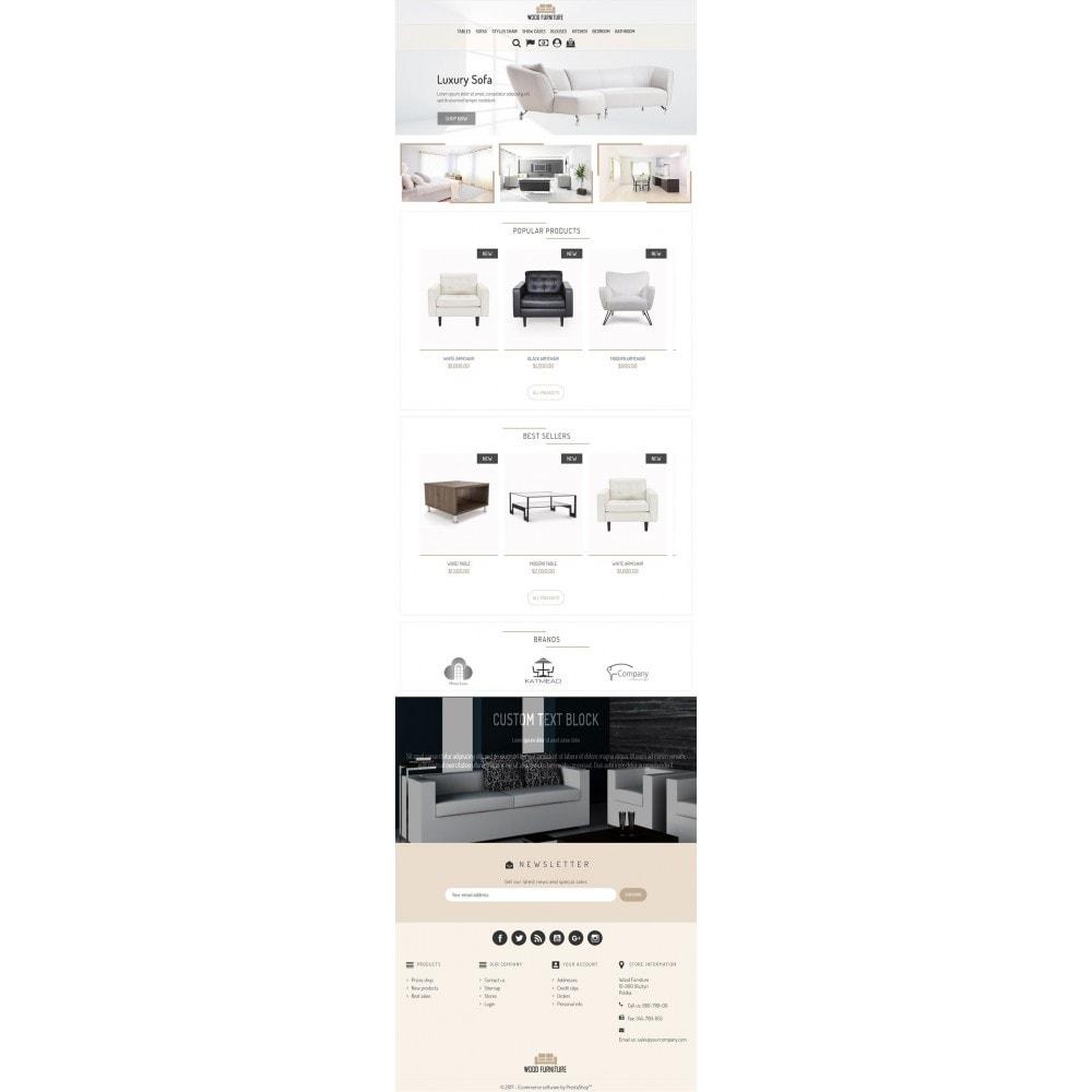 theme - Dom & Ogród - Wood Furnniture Store - 6