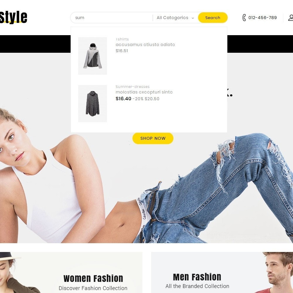 theme - Mode & Chaussures - Life Style Fashion Store - 9