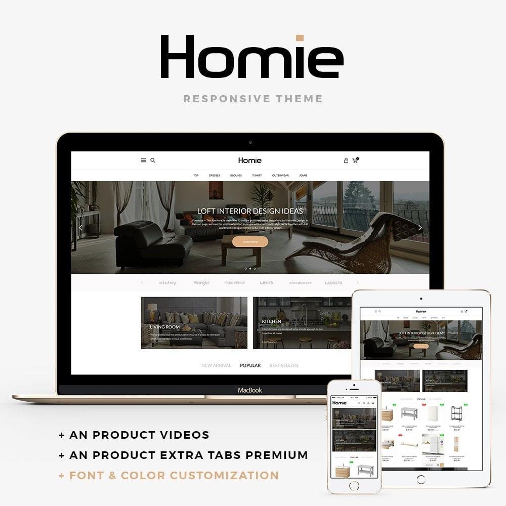 theme - Home & Garden - Homie - 1