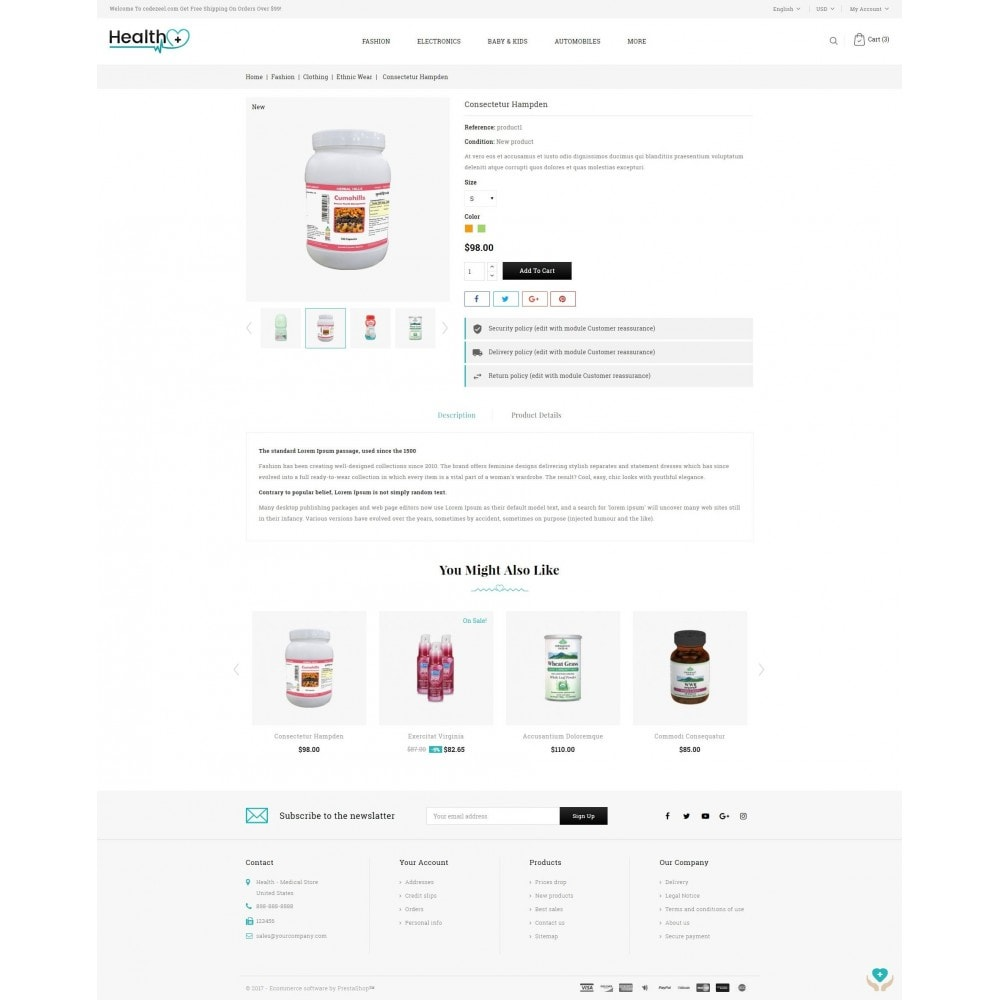 theme - Health & Beauty - Health - Medical Store - 5
