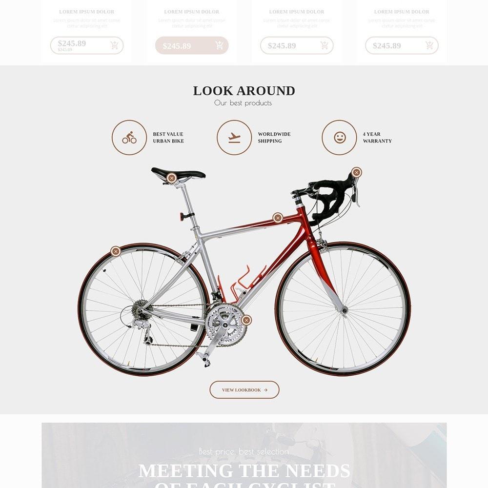 theme - Sport, Attività & Viaggi - BigBike - Un Sito di Negozio di Biciclettte - 5