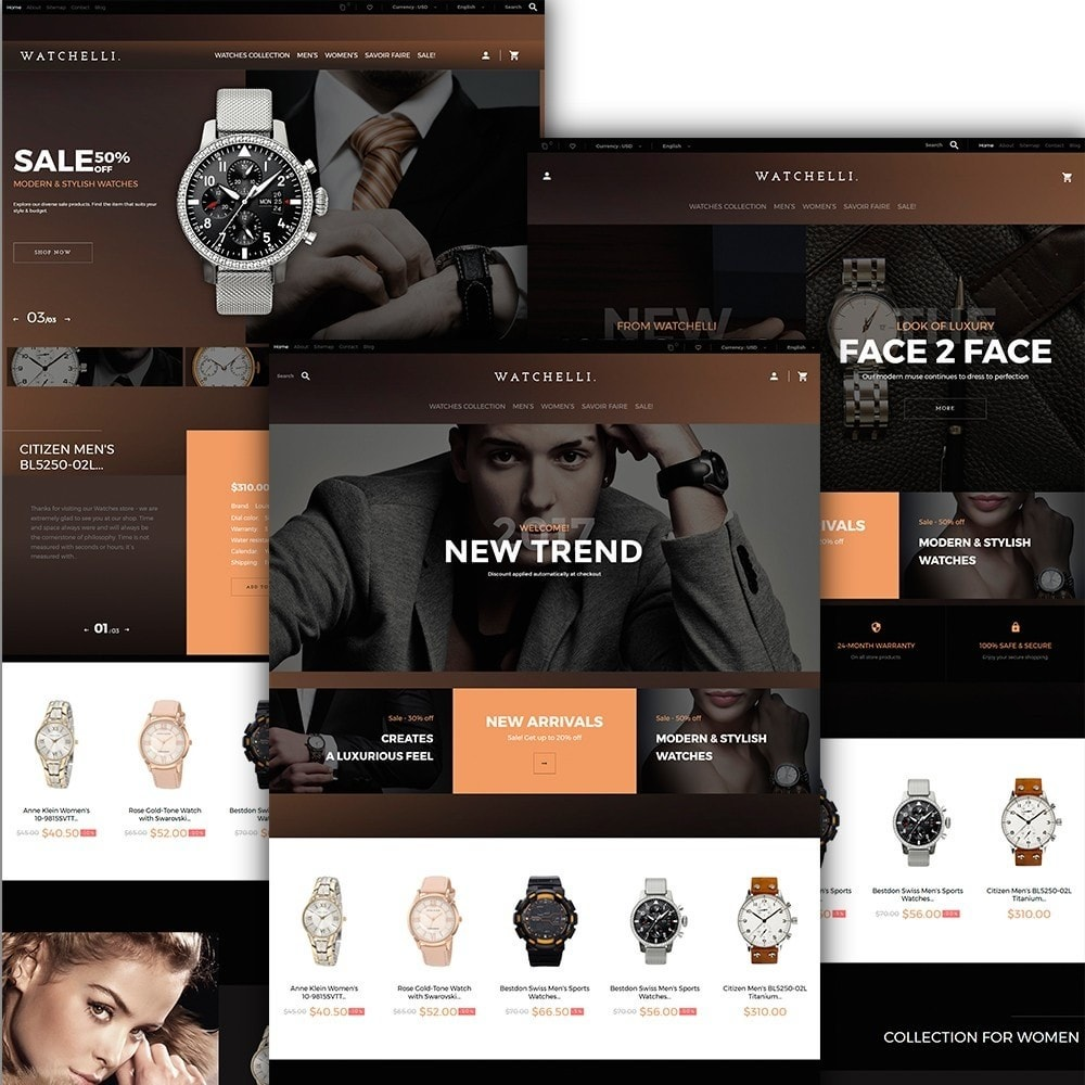 theme - Mode & Schuhe - Watchelli - Luxury Watches Store - 2