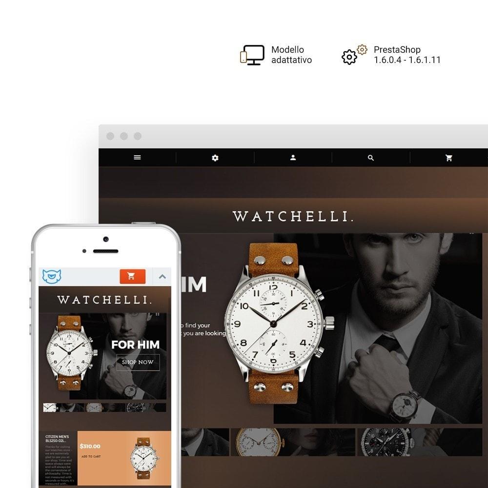 theme - Moda & Calzature - Watchelli - per Un Sito di Orologi - 1