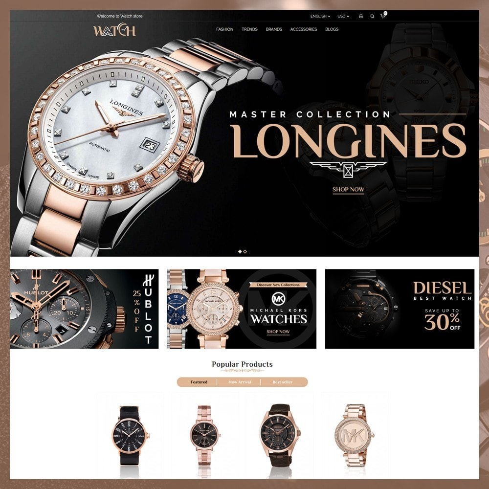 theme - Bijoux & Accessoires - Luxury Watch Shop - 2