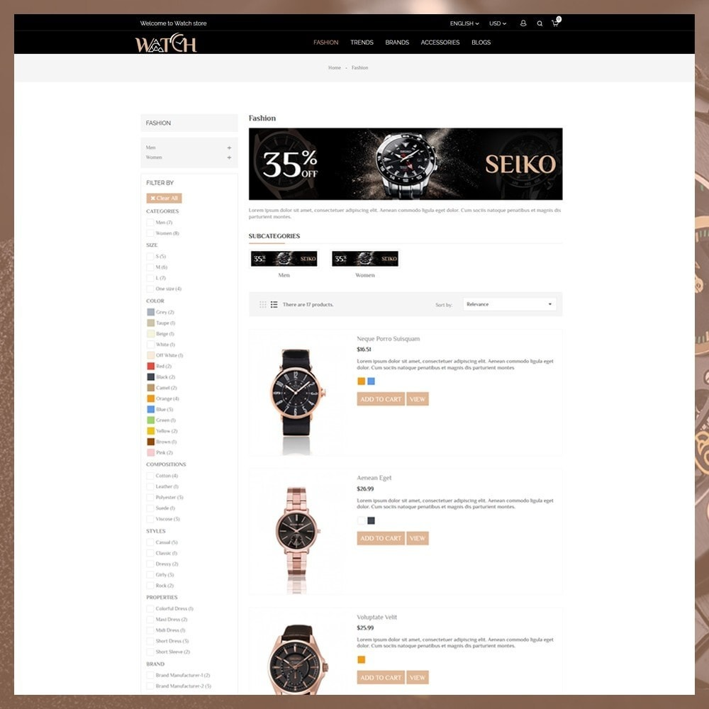 theme - Bellezza & Gioielli - Luxury Watch Shop - 5
