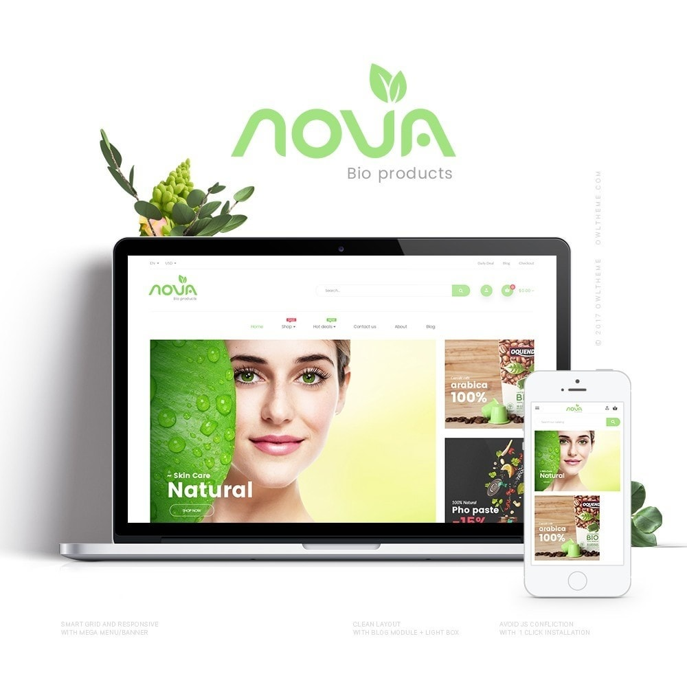 theme - Salute & Bellezza - Nova - Bio & Medical Store - 1