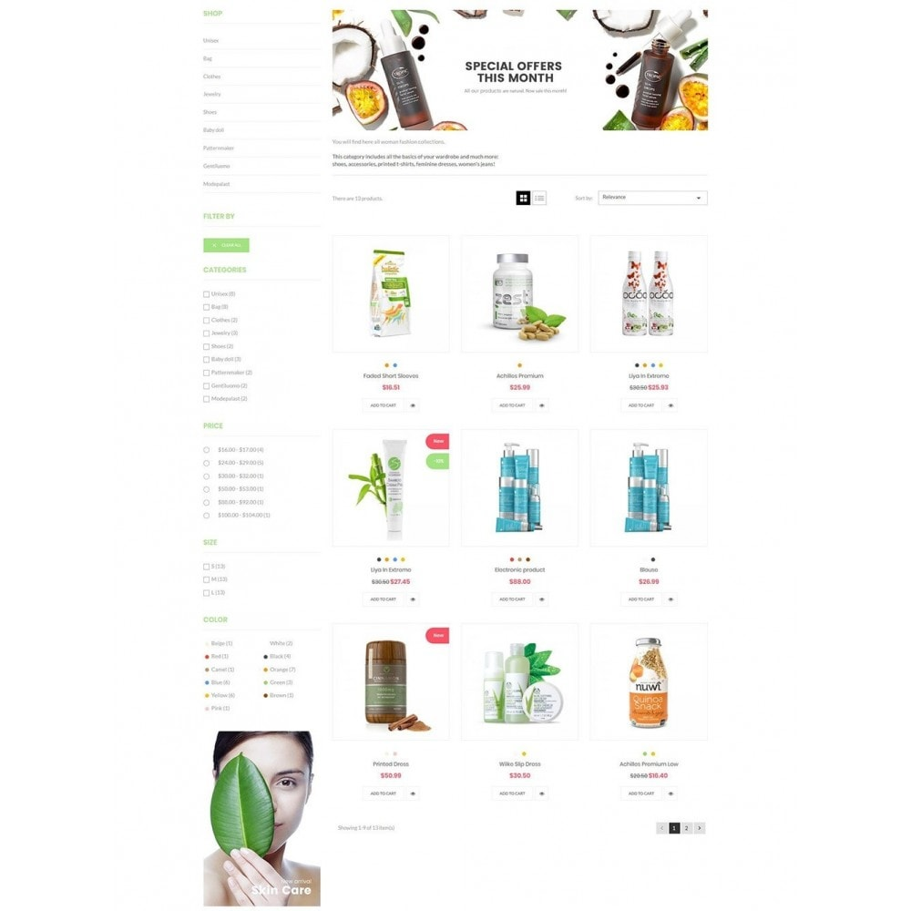 theme - Health & Beauty - Nova - Bio & Medical Store - 4