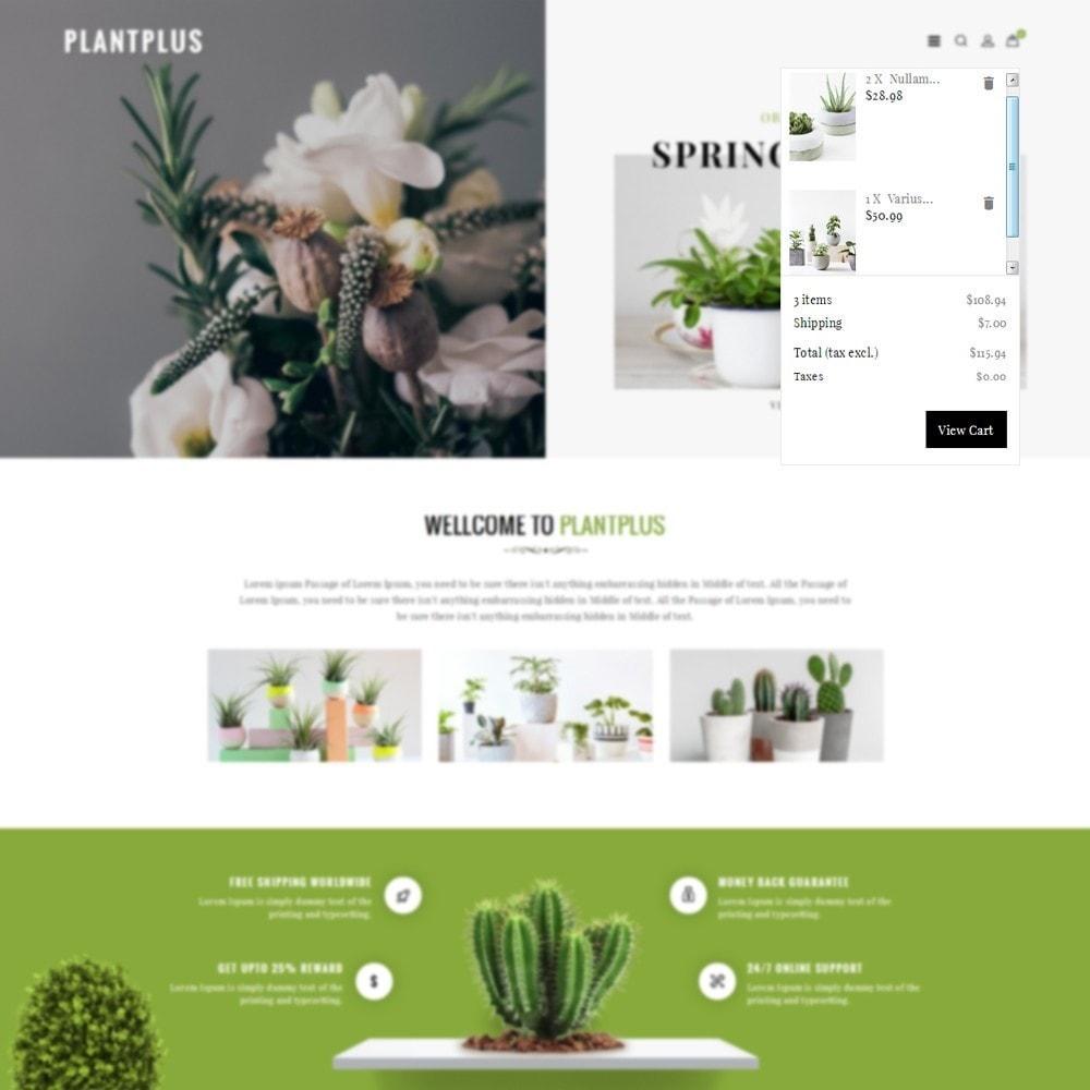 theme - Hogar y Jardín - Plantplus Plant Shop - 6
