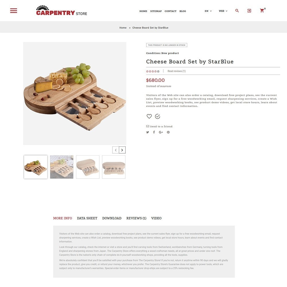 theme - Heim & Garten - Carpentry Store - 3