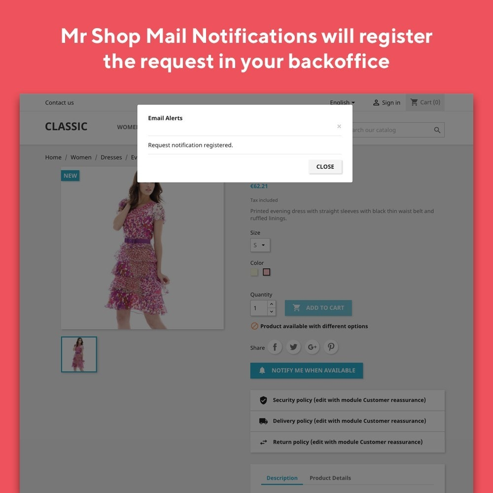 module - E-mails & Notícias - Mr Shop Mail Notifications - 4