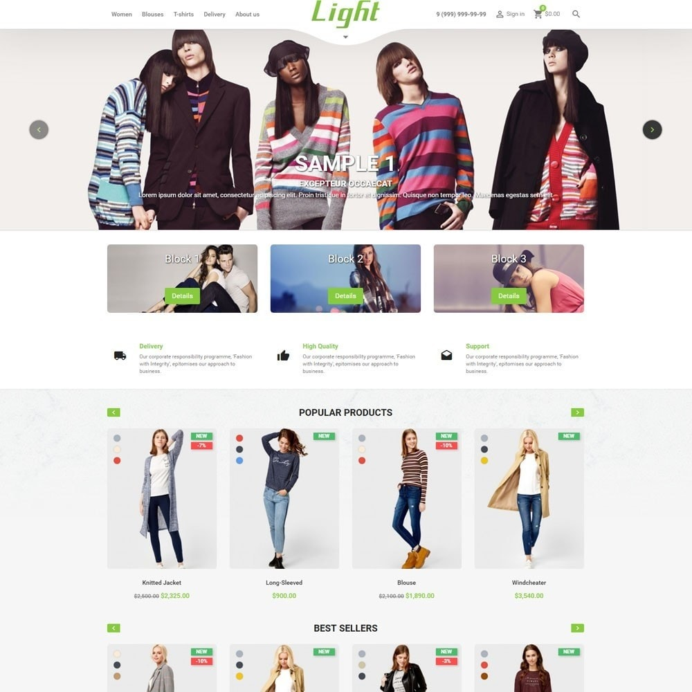 theme - Moda & Obuwie - Light Clothes Store - 2