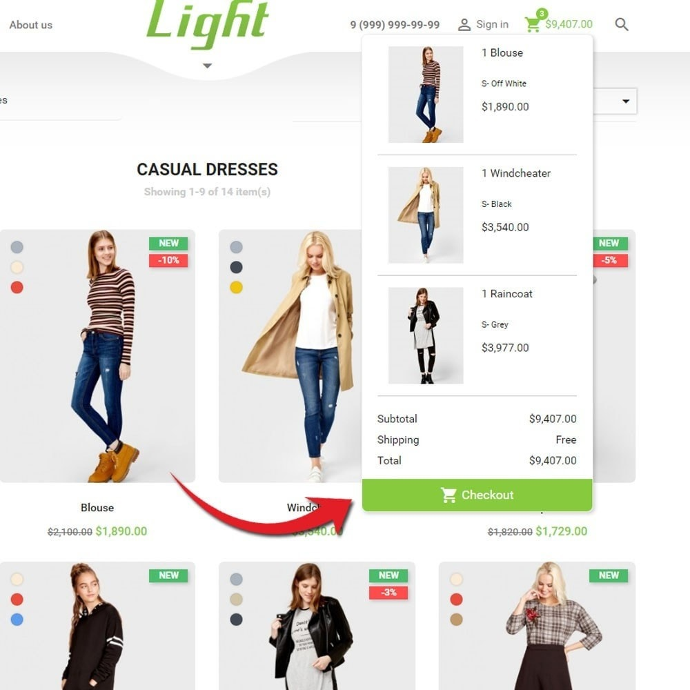 theme - Moda & Calçados - Light Clothes Store - 7