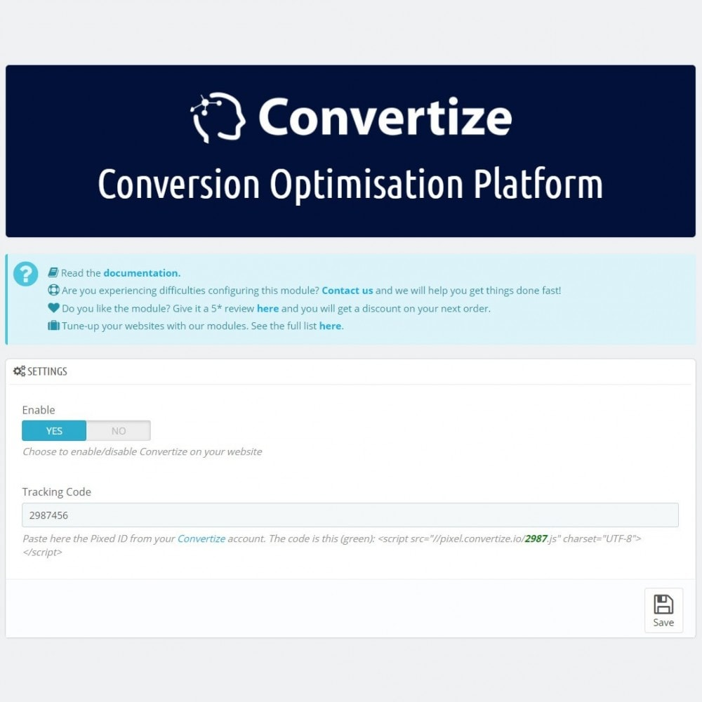 module - Analysen & Statistiken - Convertize.io - Conversion Optimisation Platform - 3