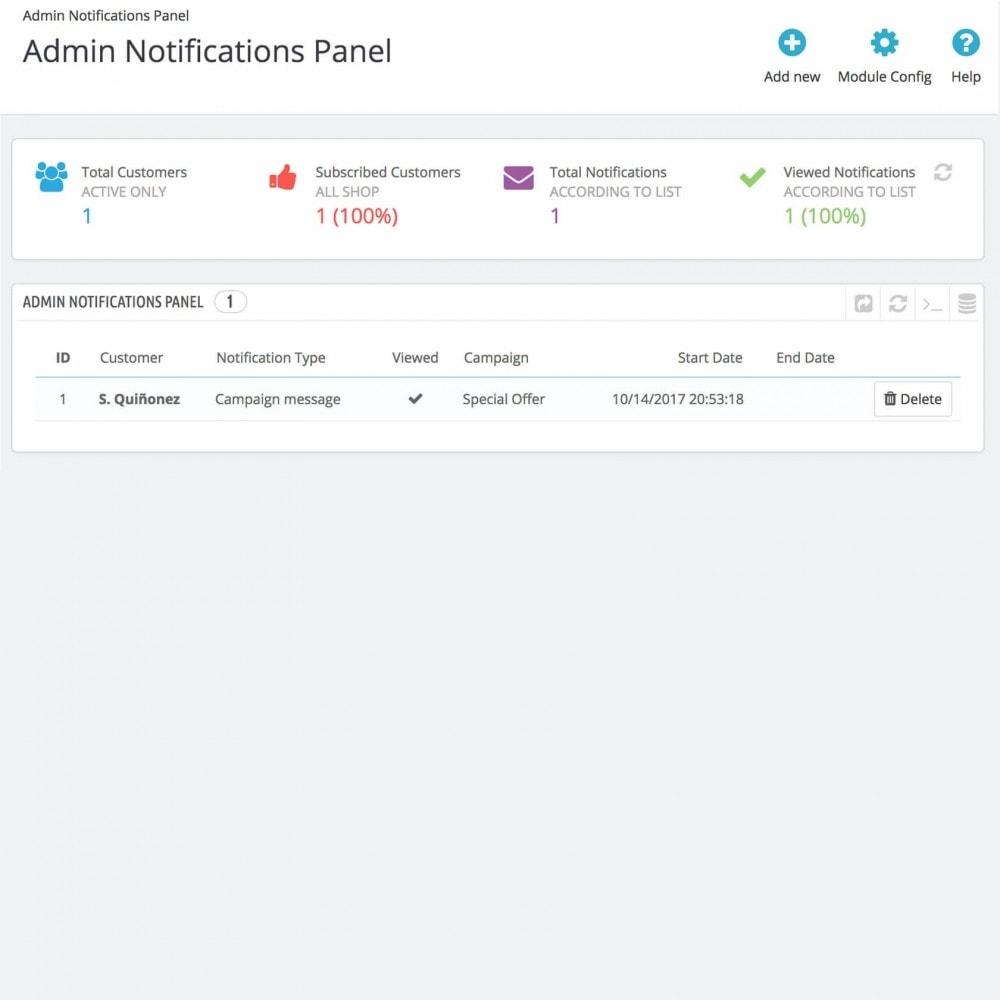 module - E-mails y Notificaciones - Notificaciones del Navegador Web - 3