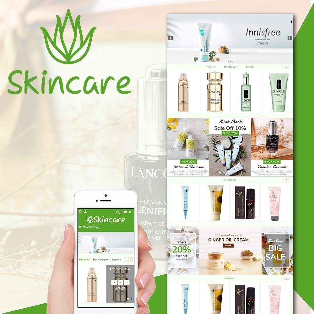theme - Gezondheid & Schoonheid - SkinCare - Bio Medical Store - 1
