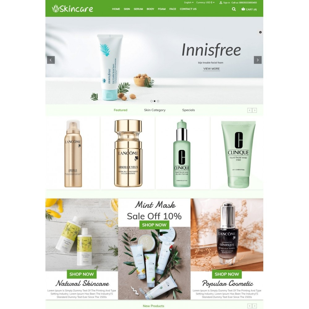 theme - Health & Beauty - SkinCare - Bio Medical Store - 2
